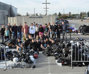 Charity equipment drive