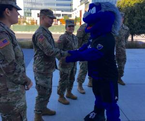 Defending The Blue Line equipment drive at SJ Earthquakes